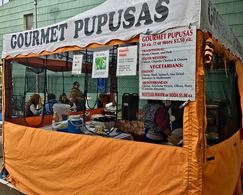 Gourmet Pupusas at Inner Sunset Farmer's Market