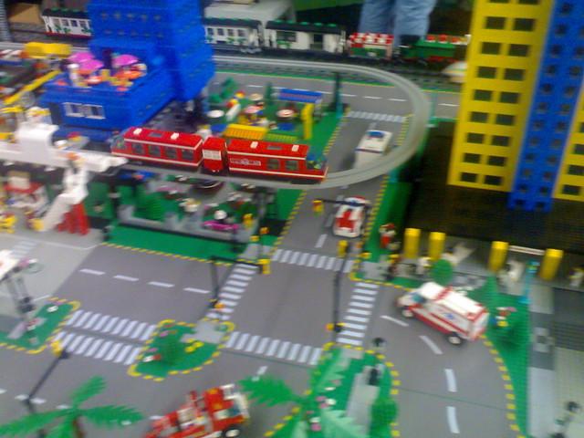 Lego Monorail
