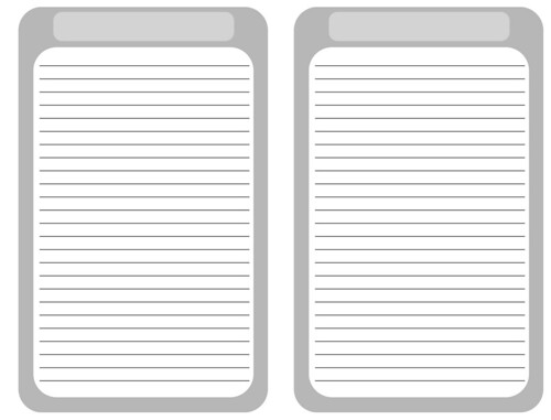 blank journal pages  printable for you   new  added