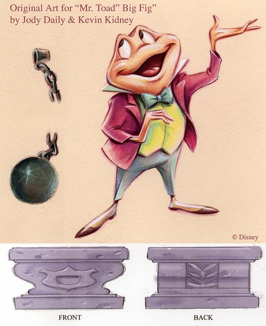 Mr Toad Big Fig Original Disney Design Flickr Photo