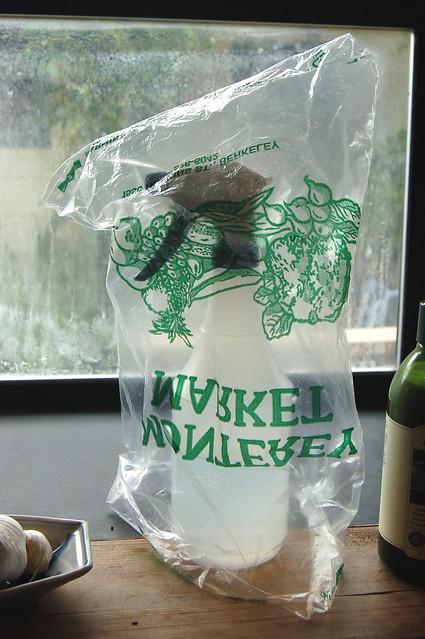 Makeshift Bag Drier