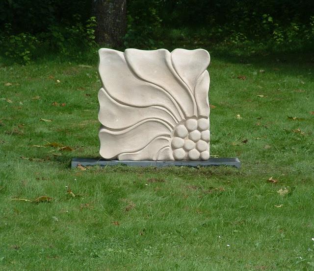 Floriana. Carved Portland stone.