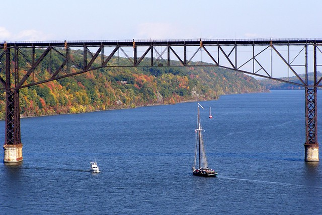 Poughkeepsie Highland Railroad Bridge over the Hudson River