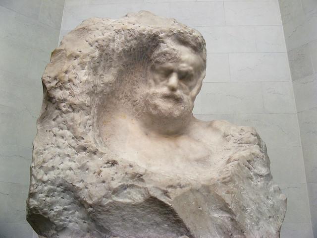 Rodin: Victor Hugo.