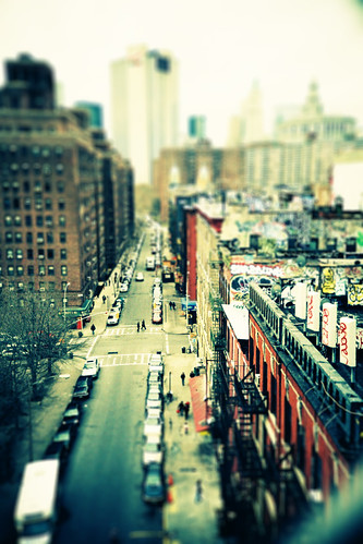 Chinatown Tilt-Shift