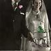 Tinted wedding photograph