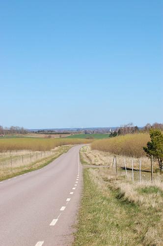 road landscape countryside view 2008 östergötland nikond40