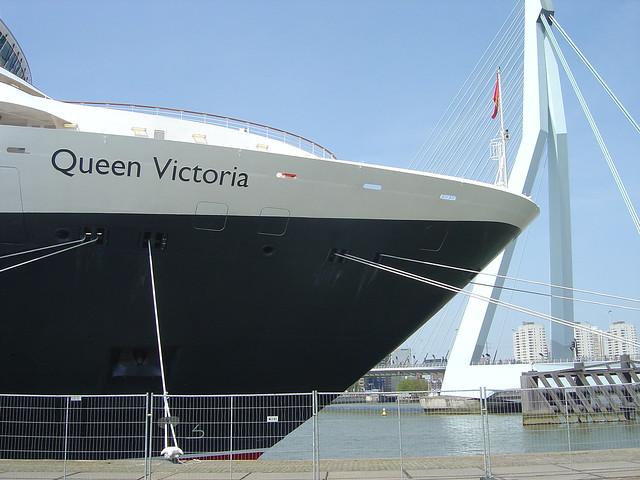 Cunard Queen Victoria in Rotterdam Holland http://www.allaboutcunard.com