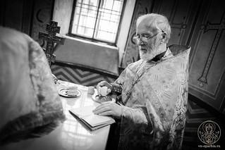Литургия в Софийском соборе 125