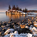 Winter Whispers: Lake Superior by Richard Thompson