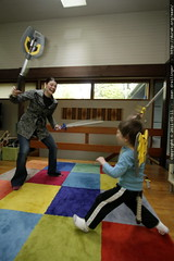 rachel's subtle, controlled duelling style