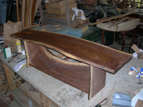 coffee table unfinished