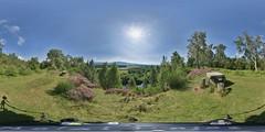 Aviemore: Lookout Speybank Kincraig Scotland Equirectangular
