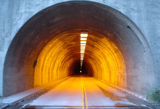 Yosemite tunnel on Hwy 41