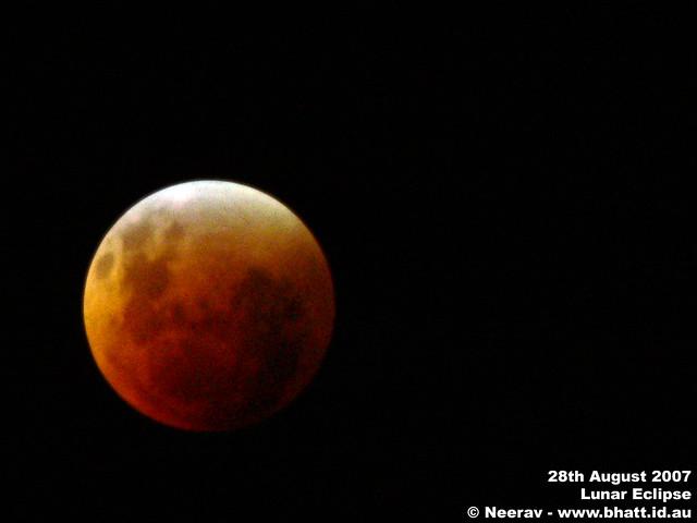 Lunar Eclipse 28th August 2007