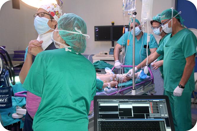 El Hospital Santa Lucía implanta técnicas de monitorización en los quirófanos