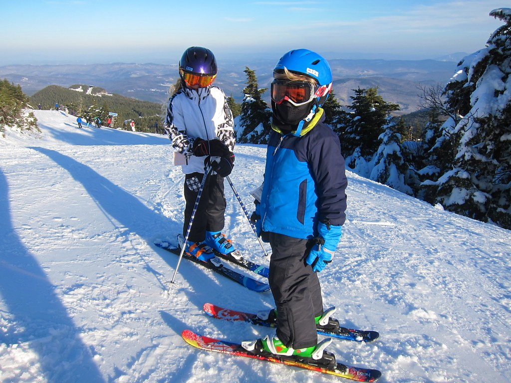 The Kids Atop Killington Peak