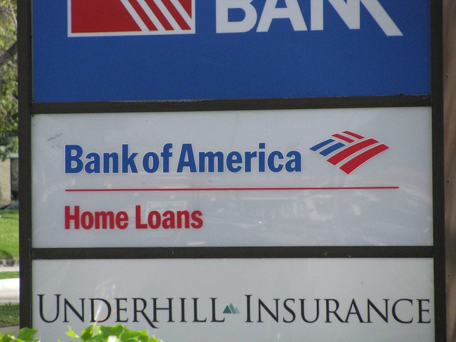 bank of america home loans contact