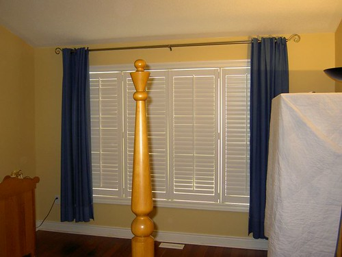 Bifold Woodlore Shutters, closed