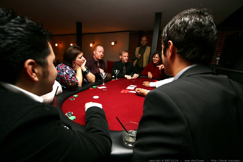 at the back room, upstairs, high stakes, texas hold em poker table    MG 6976