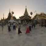 Shwedagon Pagoda - Yangon, Myanmar