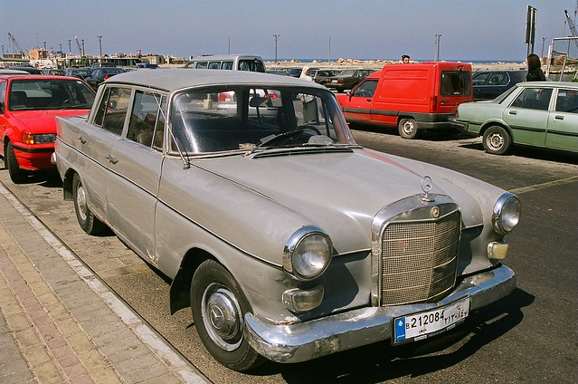 Old 1950s Mercedes Benz Sidon Lebanon Flickr Photo