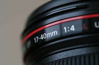 Canon 17-40 f/4 L