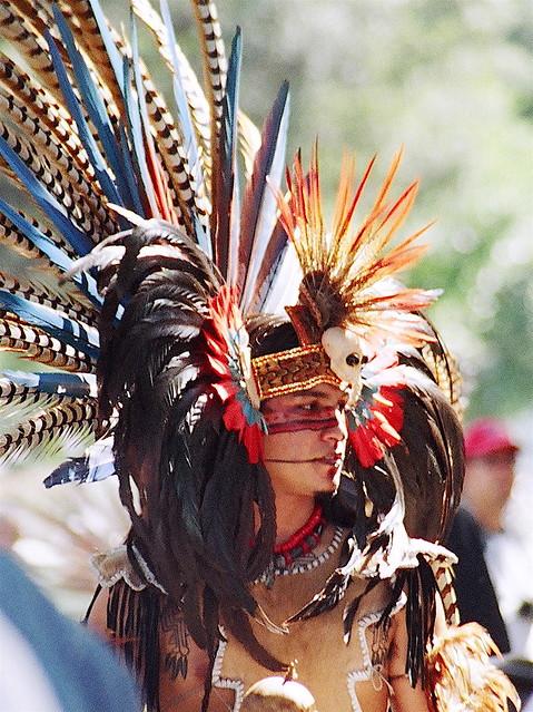 Efe Bb Z on Aztec Dancer In Mexico