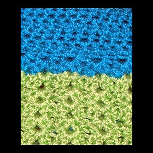 Crochet Dress Stitch Closeup
