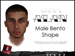 ALAN Male Bento Shape