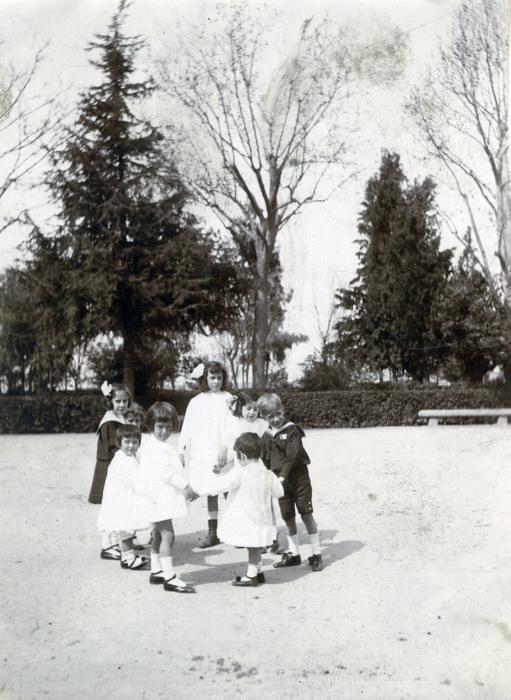 Paseo de Merchán o de la Vega en junio de 1905. Fotógrafo anónimo. Colección Luis Alba. Ayuntamiento de Toledo