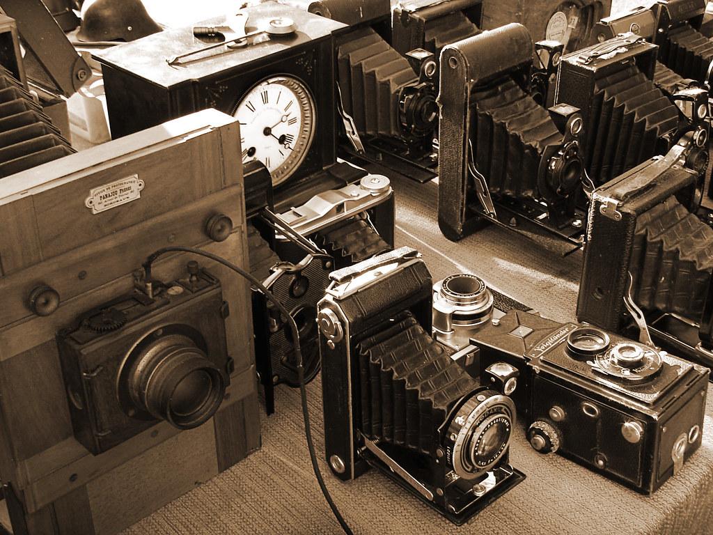 Viejas cámaras / Old cameras