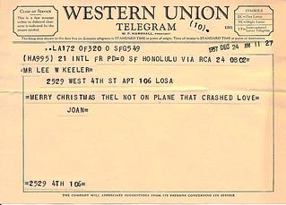 Christmas Telegram