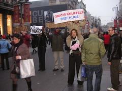 Free Hugs Campaign International Belgium