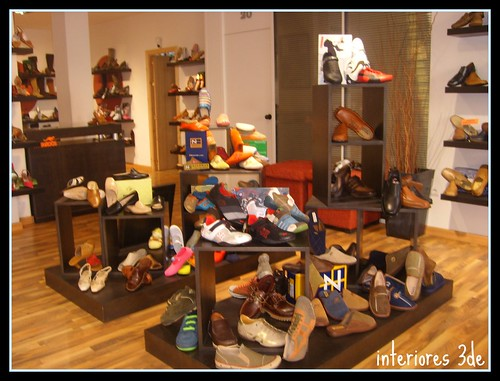Estilo oriental zapateria jeima interiores3de for Imagenes de muebles para zapatos