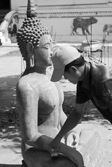 A Buddha production line