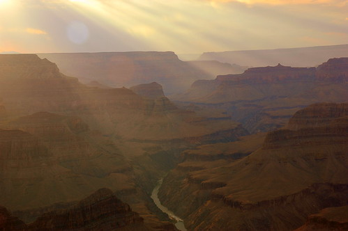 Sunset, South Rim, Powell Point, Grand Canyon