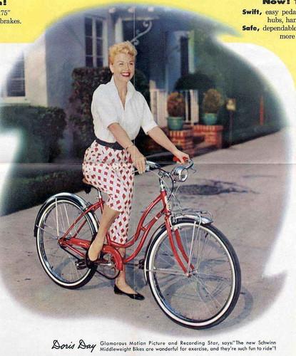 Schwinn, Doris Day