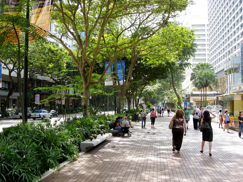 Orchard Road Shopping - Singapore