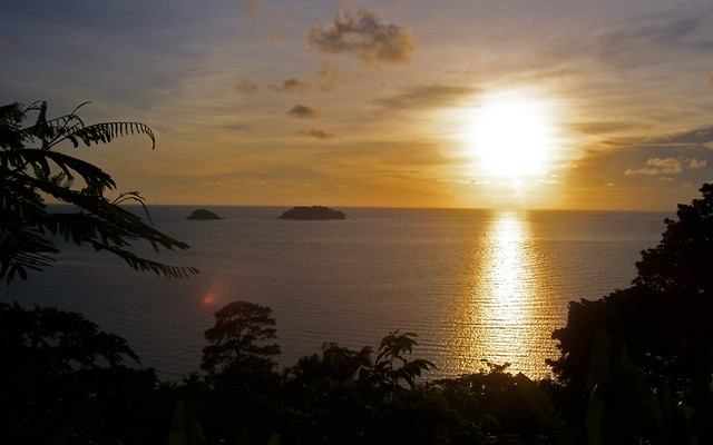 Sunset on Ko Chang Thailand