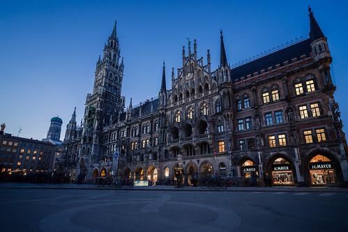Munich Townhall from Toni Hoffmann
