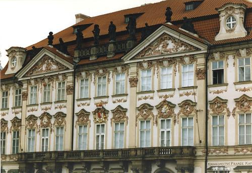 Praha, Goltz-Kinsky palace, façade