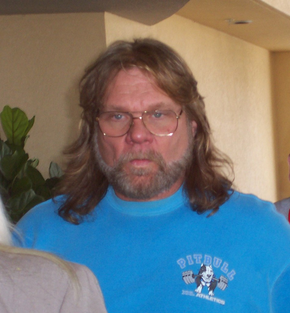Hacksaw Jim Duggan, tough guy!
