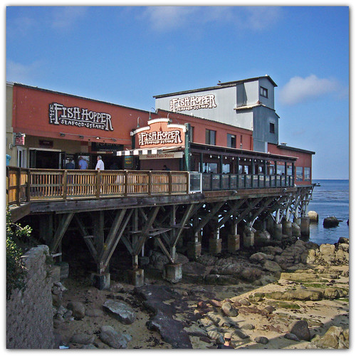 The Fish Hopper on Cannery Row by Old Jingleballicks