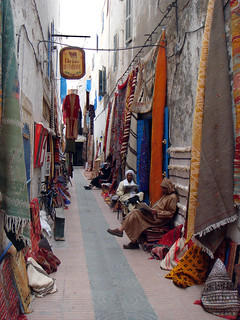 Essaouira rug merchants