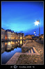 Grasleie after sunset, Gent, Belgium by Erroba