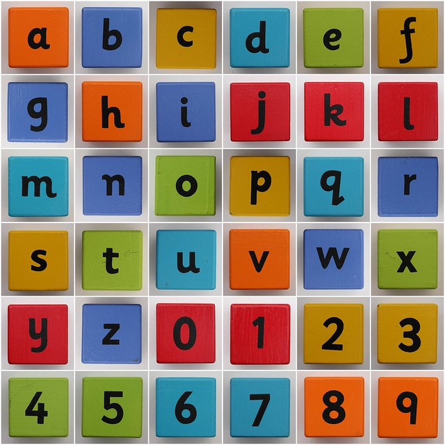 Letter  Squares Make A Word
