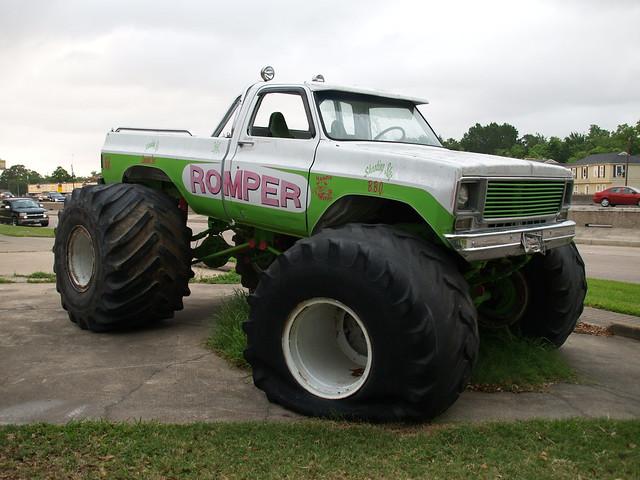 Houston Texas Old Monster Truck The Romper 2008 P5131145