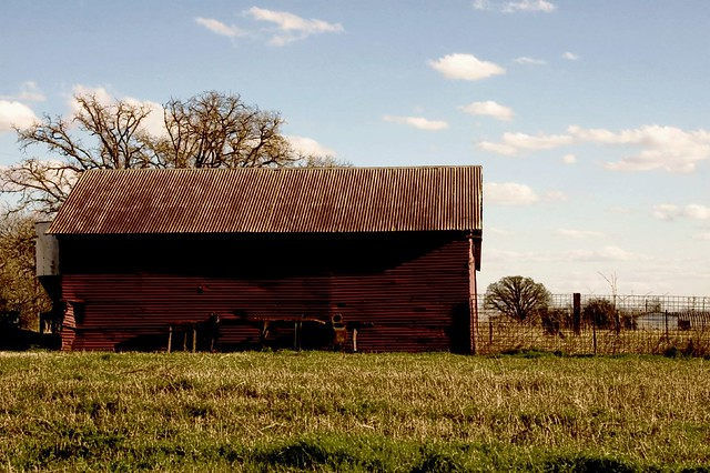 Red Metal Barn Flickr Photo Sharing