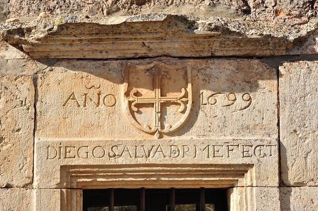 Diego Salvador me hizo. 1699. Cozuelos.
